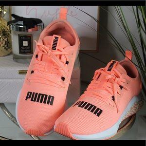 Bright Orange Puma Sneaker